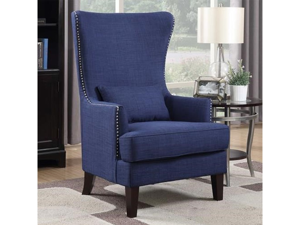 Accent Chairs.Kori Wing Back Accent Chair By Elements At Royal Furniture