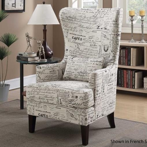 Elements International KoriUpholstered Chair