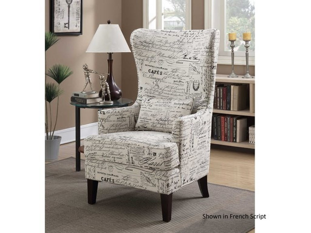 Elements International KoriUpholstered Chair
