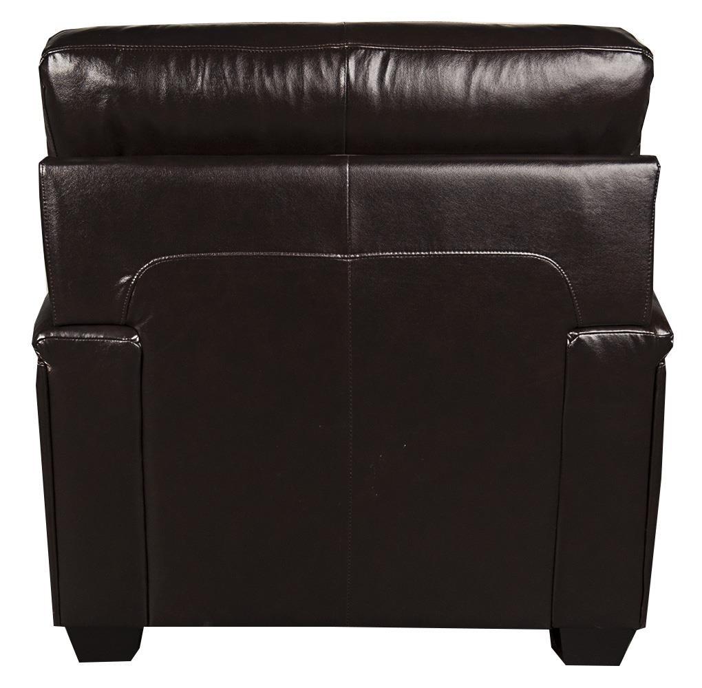 ... Morris Home Furnishings LandryLandry Leather Match* Chair