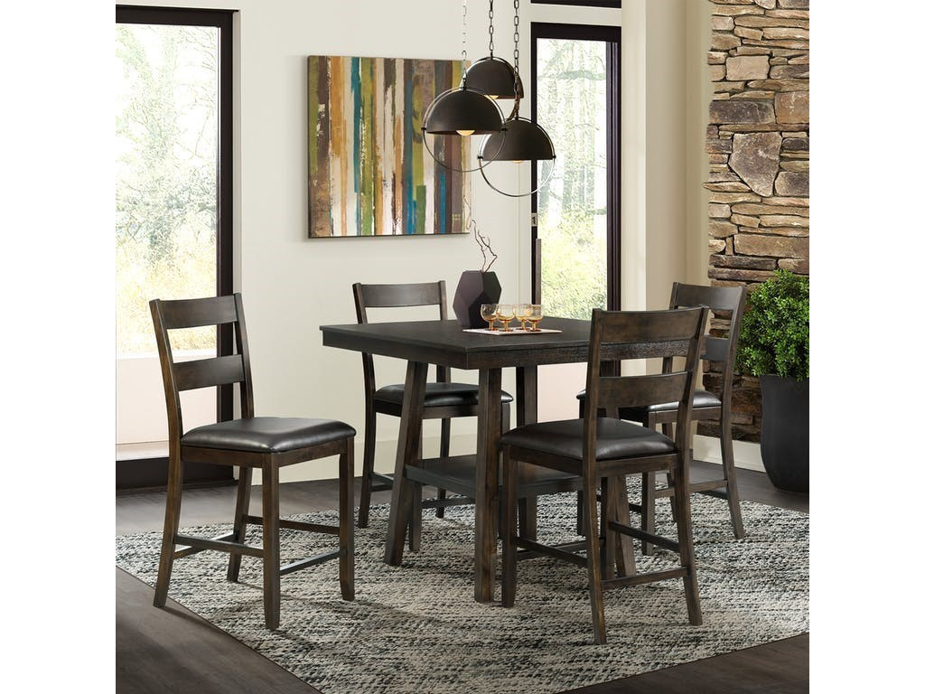 Elements International Laredo5 Piece Counter Height Dining Set