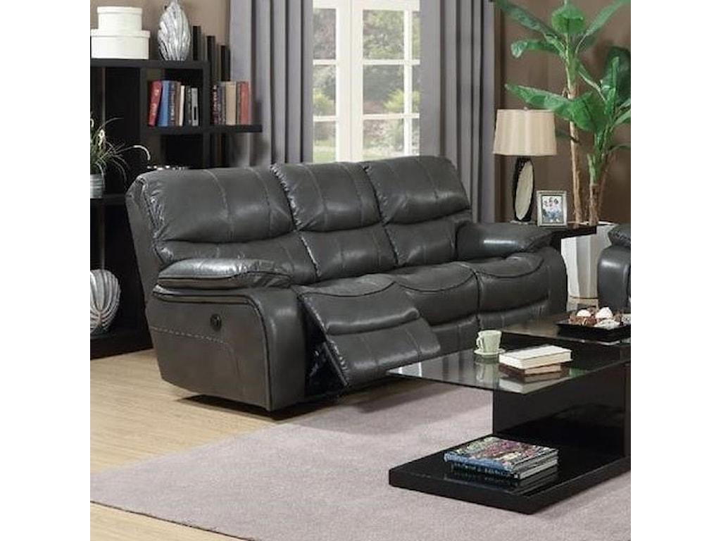 Elements International Laredo Reclining Sofa With Adjule Headrests Olinde S Furniture Sofas