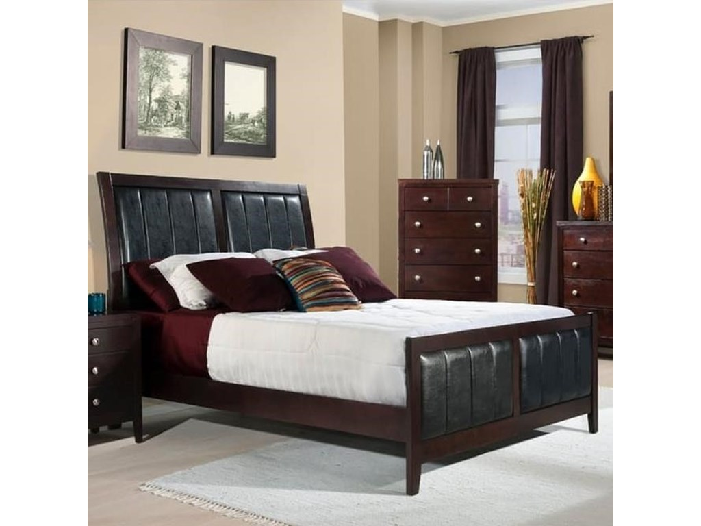 Elements International LawrenceKing Bed