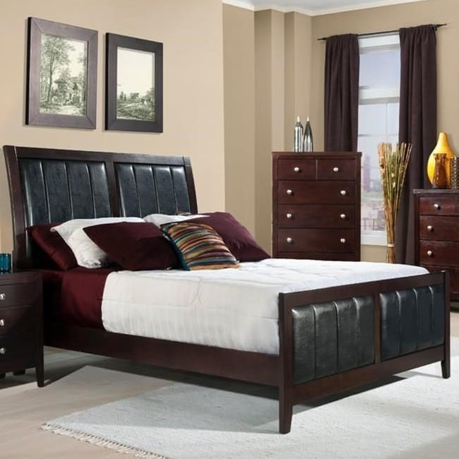Elements International LawrenceQueen Bed