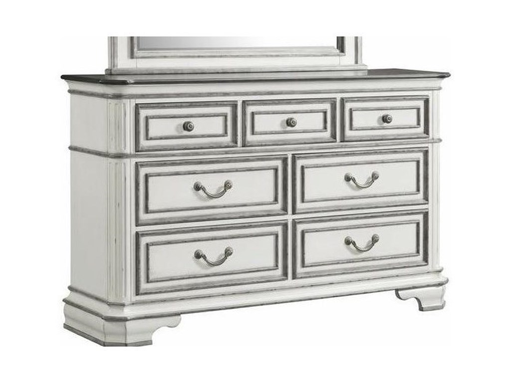 Elements International Leighton ManorDresser