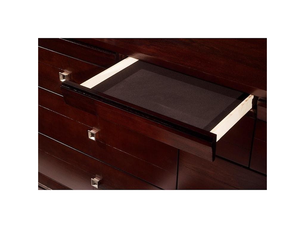 Elements London7-Drawer Dresser & Mirror Set