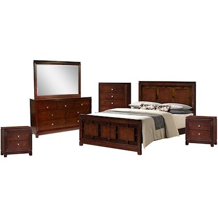 6-Piece King Bedroom Set