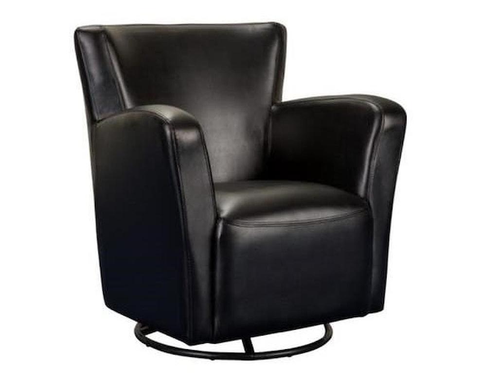 Elements International Marilyn UMVSwivel Upholstered Chair