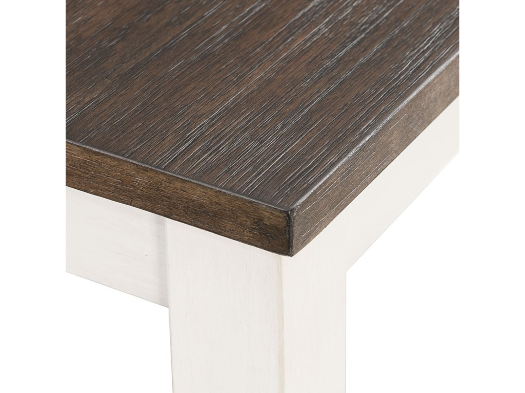 Elements MartinDining Table Set with Bench