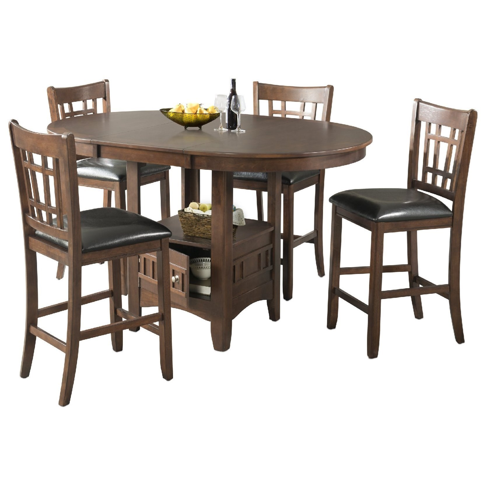 Elements International MaxCounter Height Table Set ...