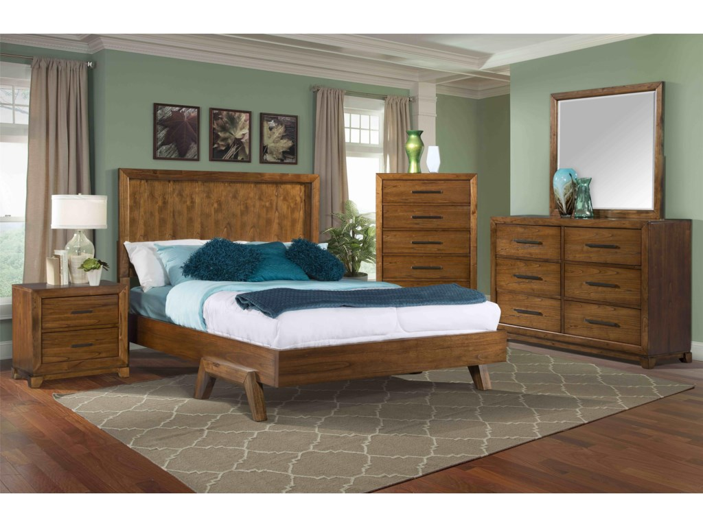 Elements International MayfieldChest with 5 Drawers
