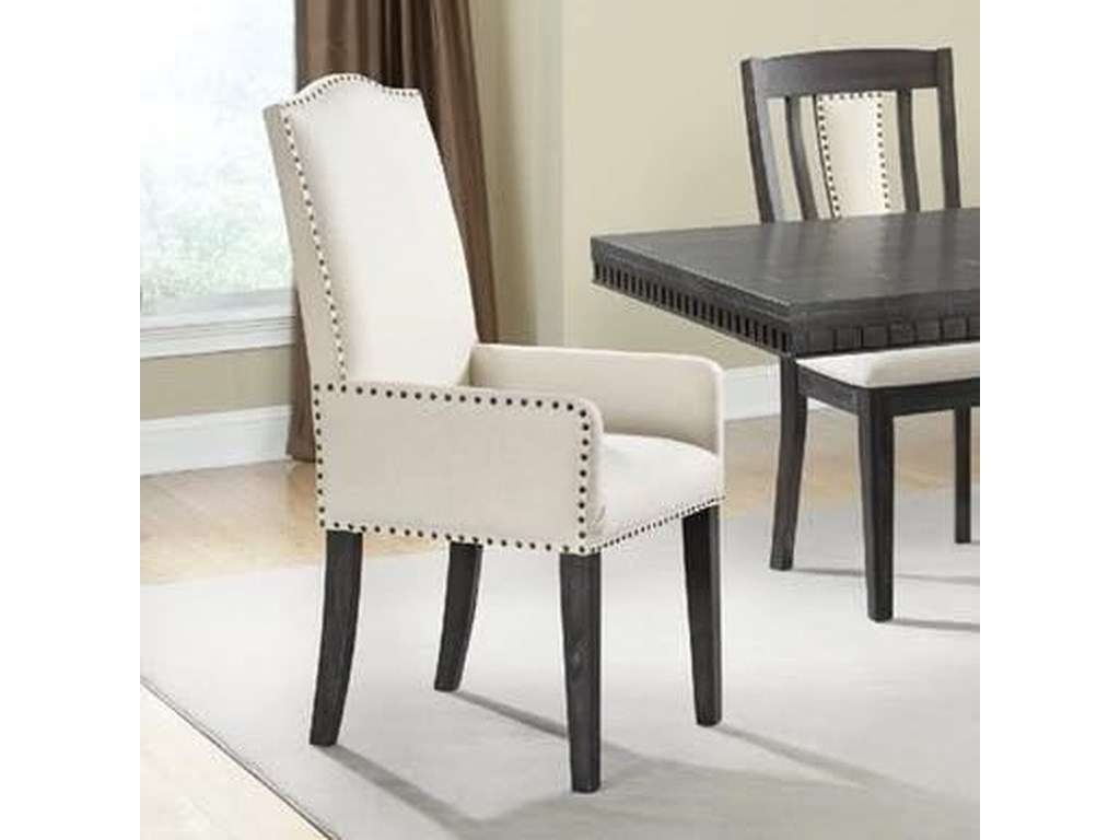 Elements International MorrisonUpholstered Arm Chair