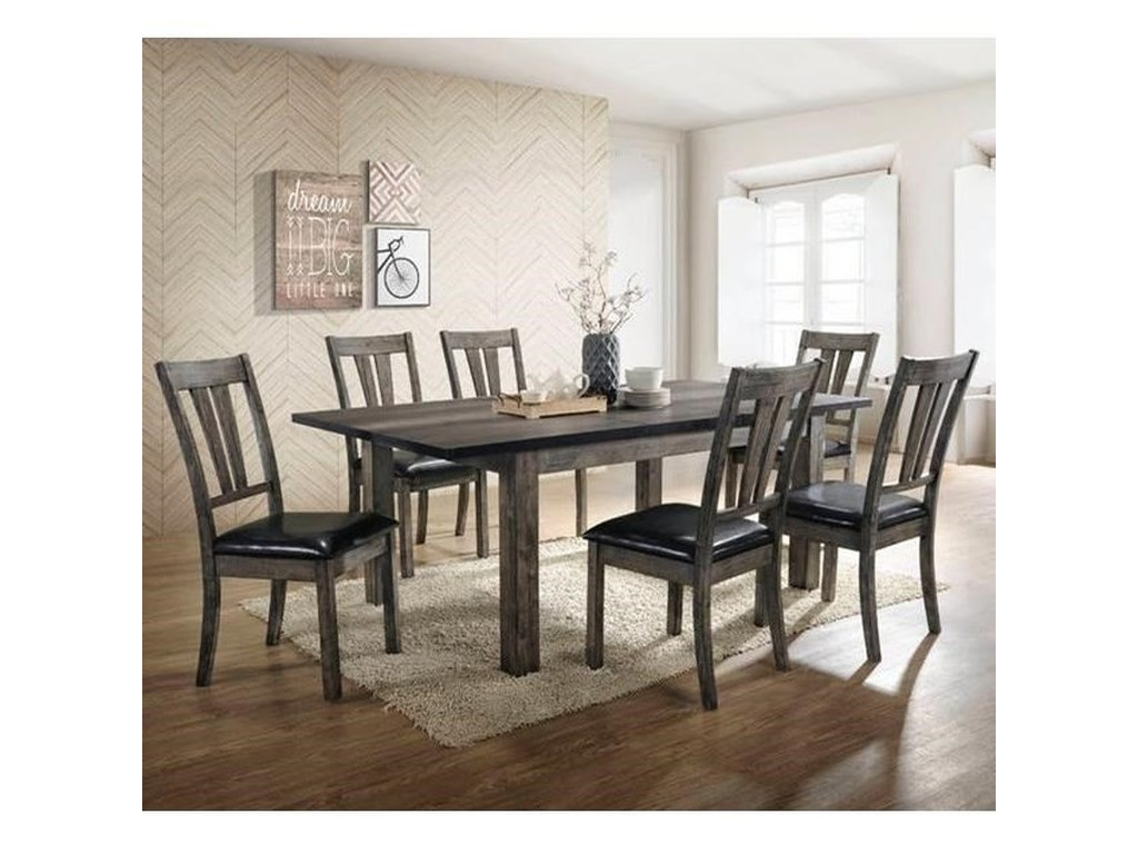 Nathan 7-Piece Dining Room Table Set