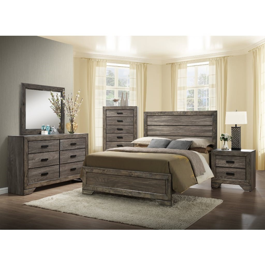 Bedroom Sets Las Cruces elements international nathan queen bedroom set - household