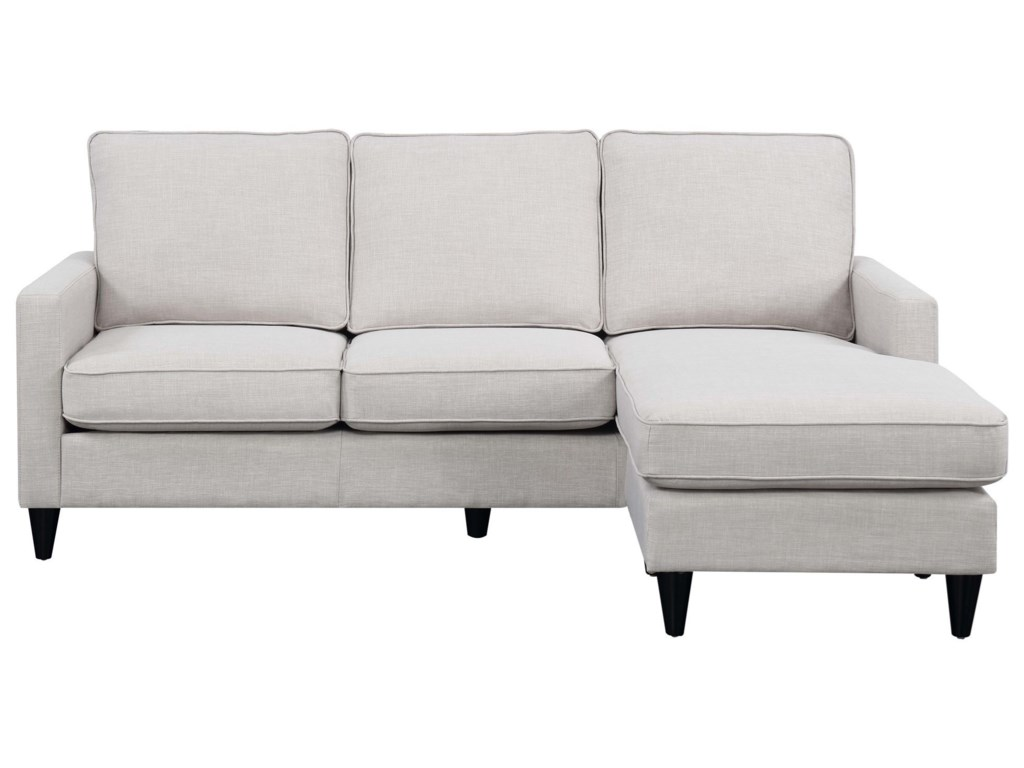 Noah Contemporary Reversible Chaise Sectional by Elements at Royal Furniture