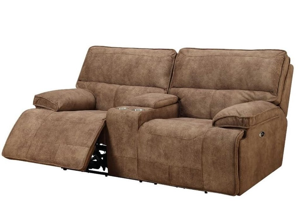 Elements International ParisPower Reclining Living Room Group