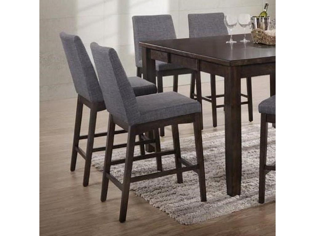 Elements international pipercounter height stool