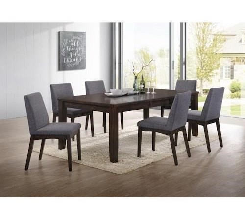 Elements International Piper5 Piece Table and Chair Set