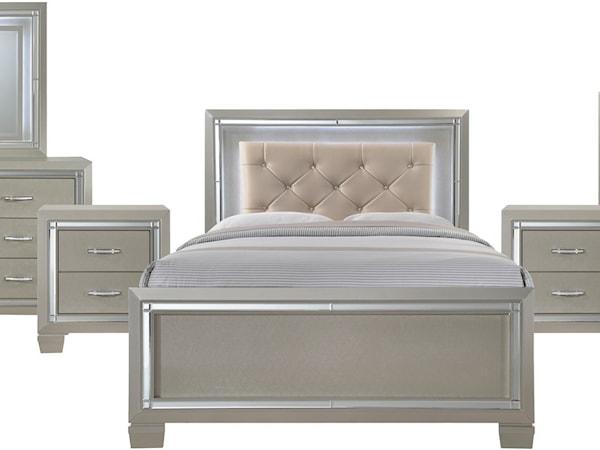 Full 6-Piece Bedroom Group