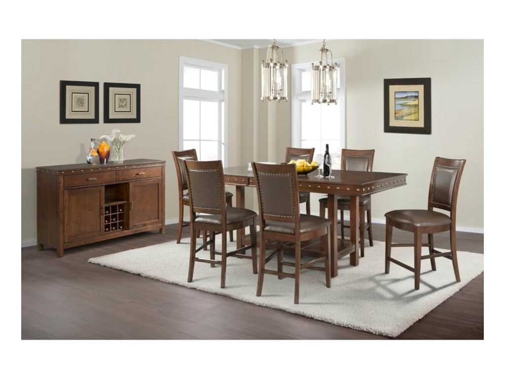 Elements PrescottCounter Height Dining Room Group