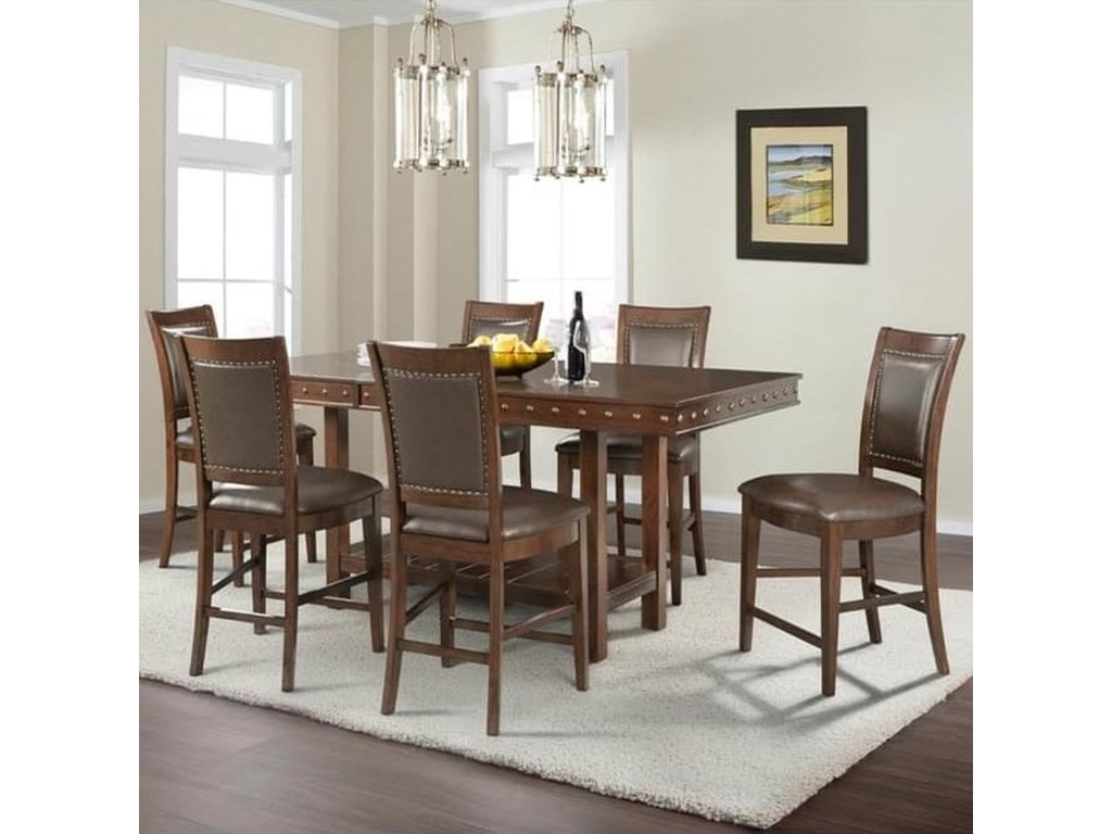 Elements International PrescottTable and Chair Set