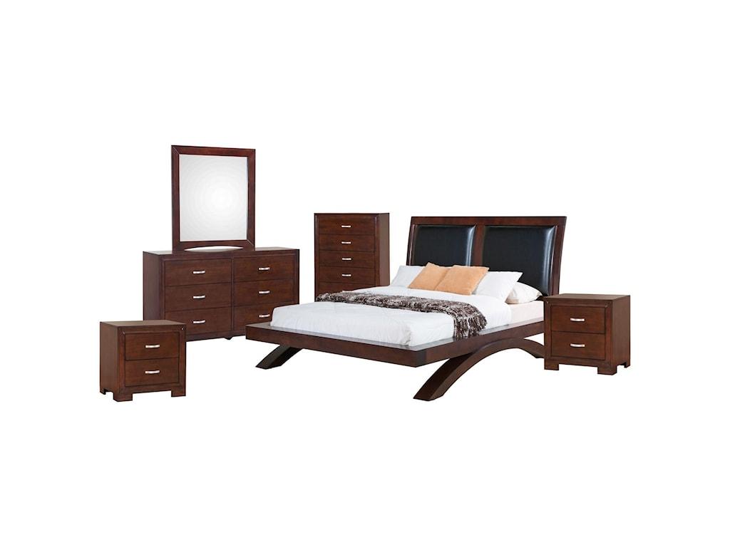 Raven 6-Piece King Bedroom Set