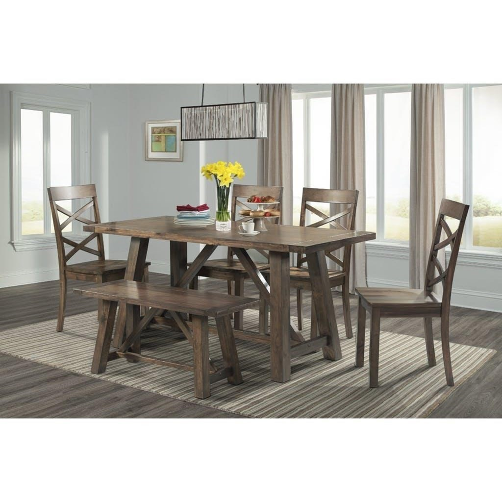 Genial Elements International RenleySix Piece Dining Set ...