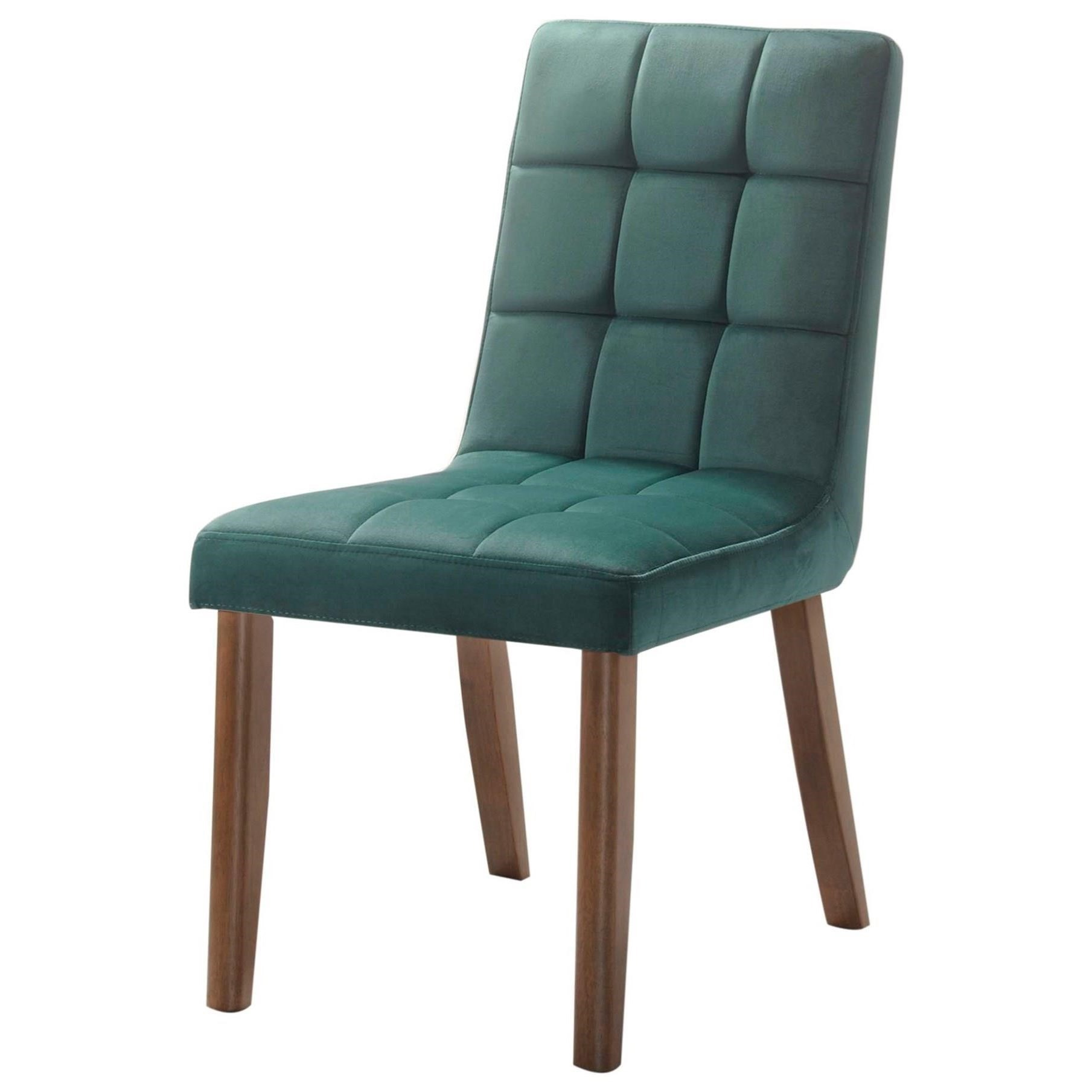 Elements Robin Mid Century Modern Tufted Side Chair Royal