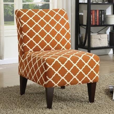 Elements International ScarlettSlipper Chair ...
