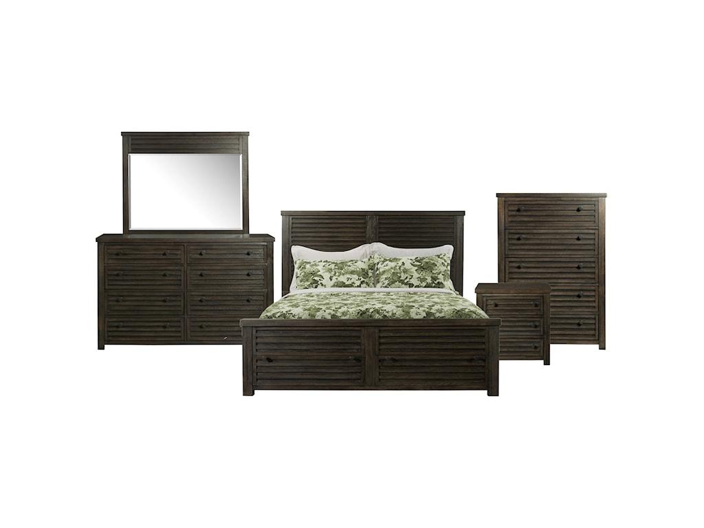 Shelter Bay 5-Piece Queen Bedroom Set