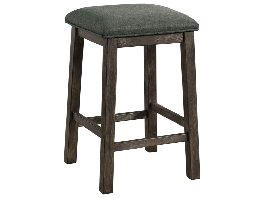 Elements International Shelter BayCounter Height Multipurpose Bar Table Set