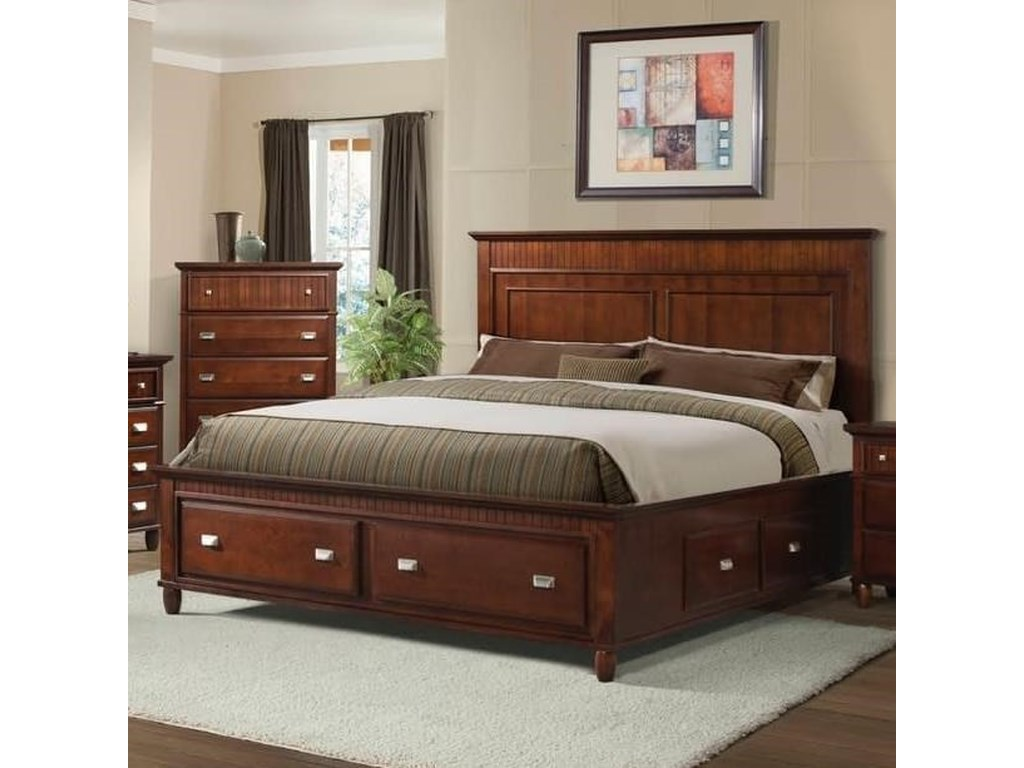 Elements International SpencerTwin Storage Bed