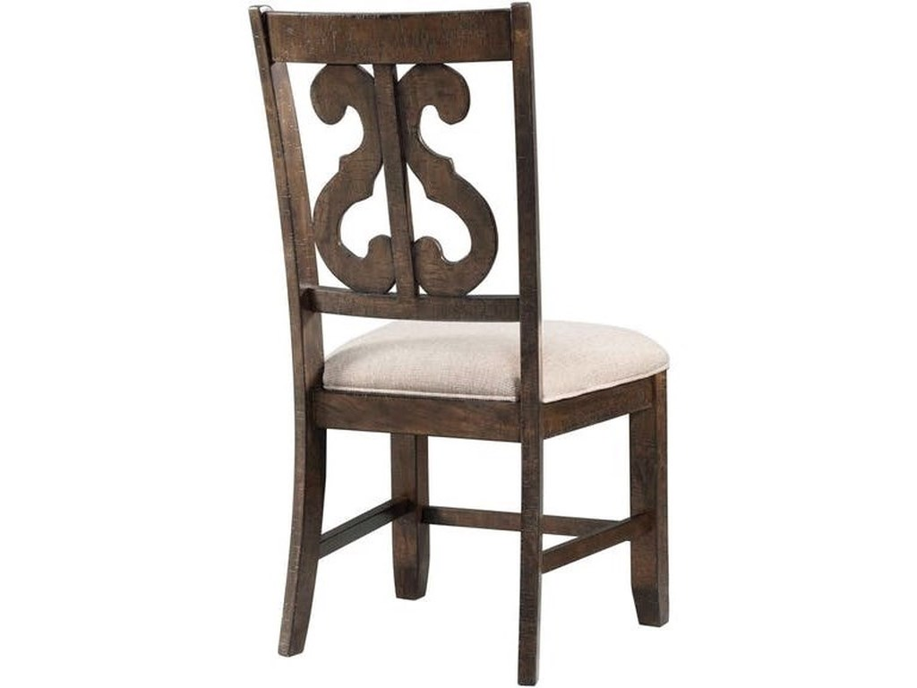 Elements International StoneRound Table and Chair Set