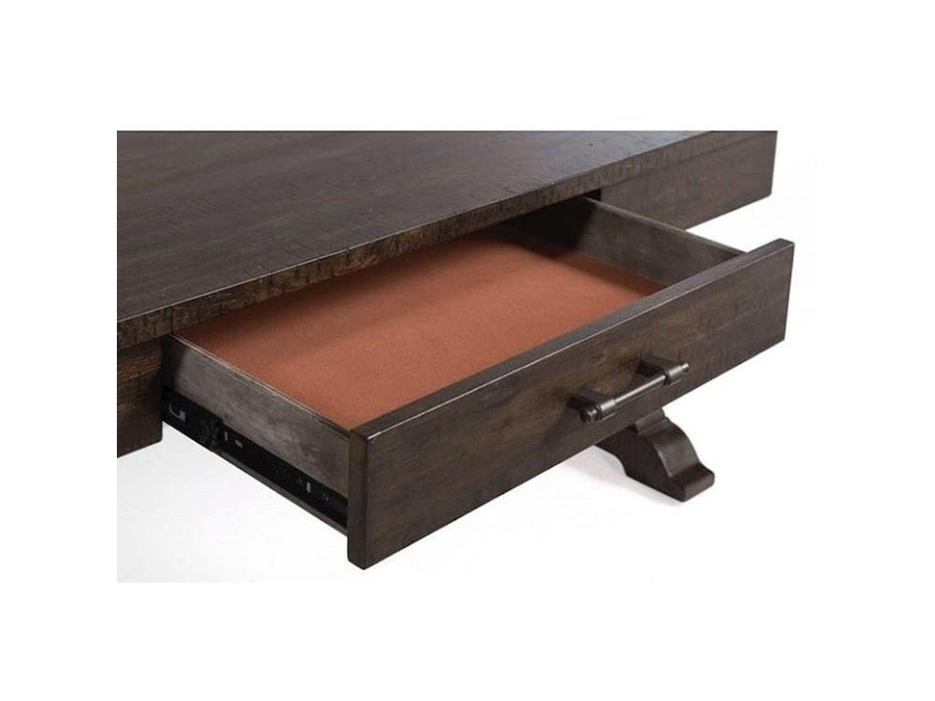 Elements International StoneCocktail Table