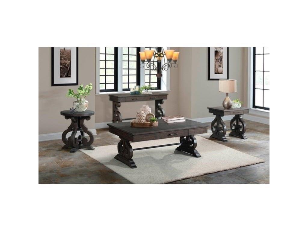 Elements International StoneSofa Table