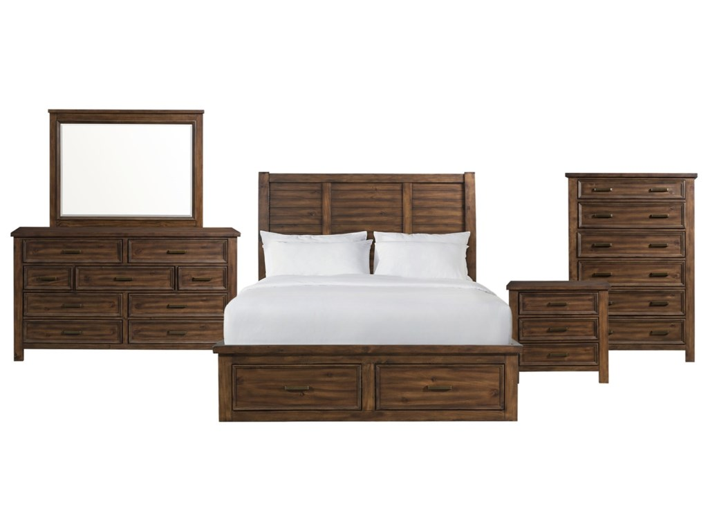 Elements SullivanKing 5-Piece Bedroom Group