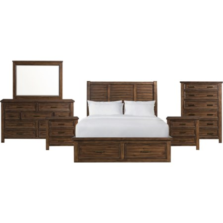 King 6-Piece Bedroom Group
