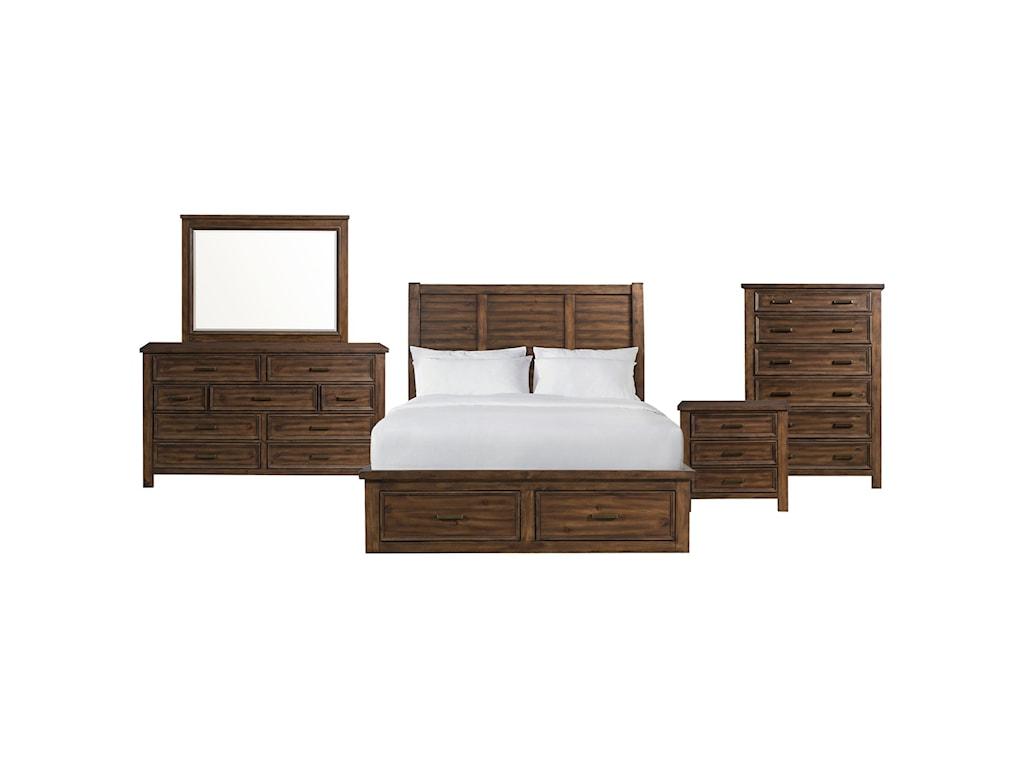 Elements SullivanQueen 5-Piece Bedroom Group