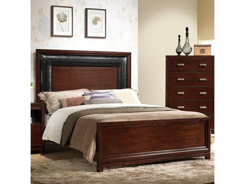 Elements International TannerQueen Panel Bed