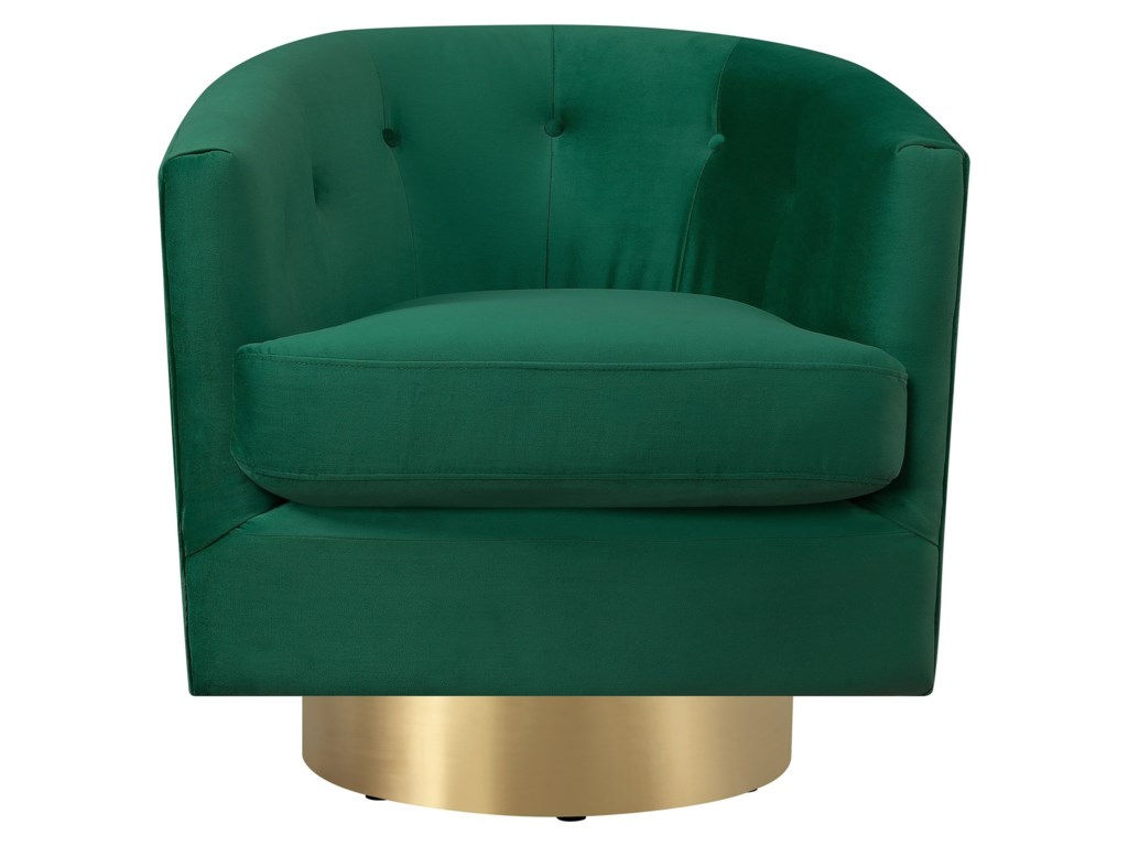 Elements TracySwivel Accent Chair