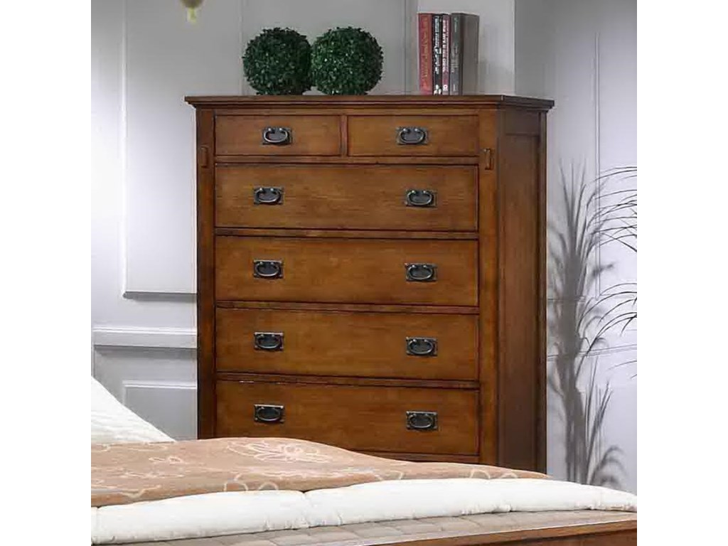 Trudy Mission Style Chest Of Drawers By Elements International At Conlin S Furniture