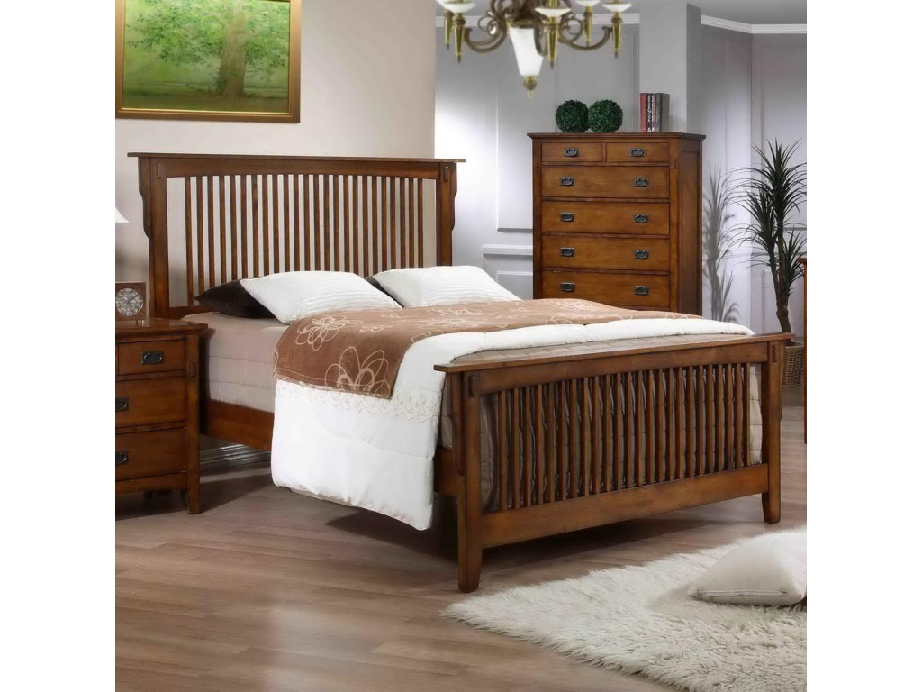 Elements International TrudyTwin Bed