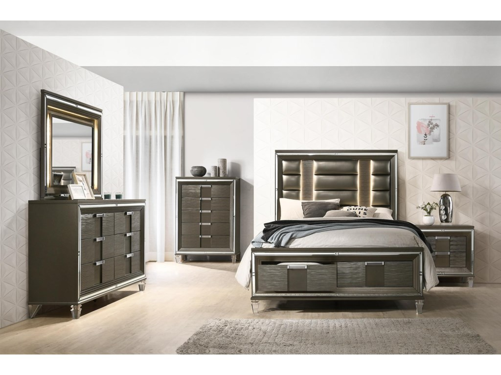 Elements Twenty NineKing 5 Pc Bedroom Group
