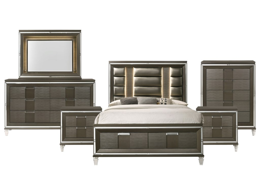 Twenty Nine 6-Piece King Bedroom Set