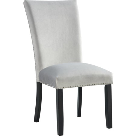 Velvet Side Chair