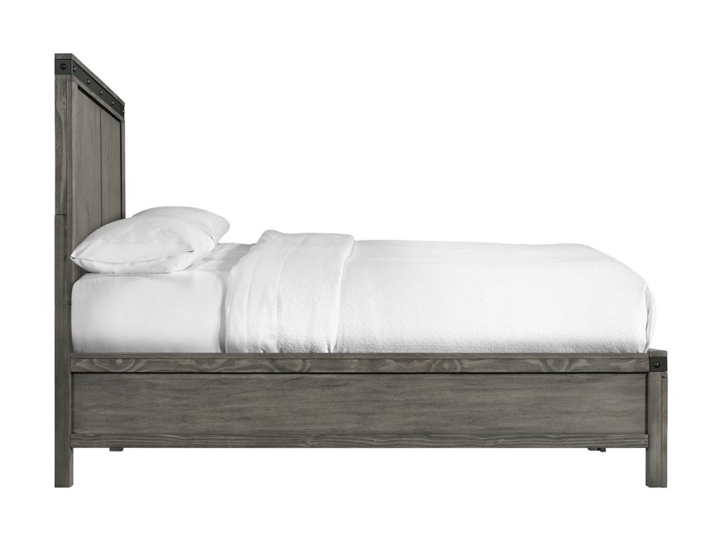 Elements International WadeTwin Panel Bed