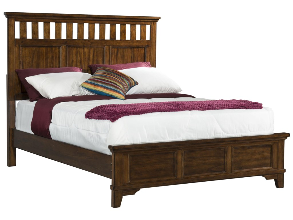 Elements International WoodlandsKing Bed