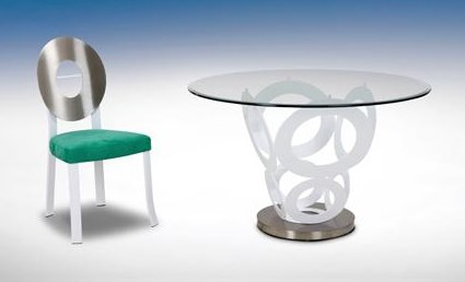 Shown with Vida Chair