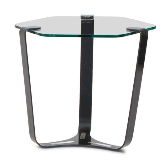 Elite Modern TribandEnd Table