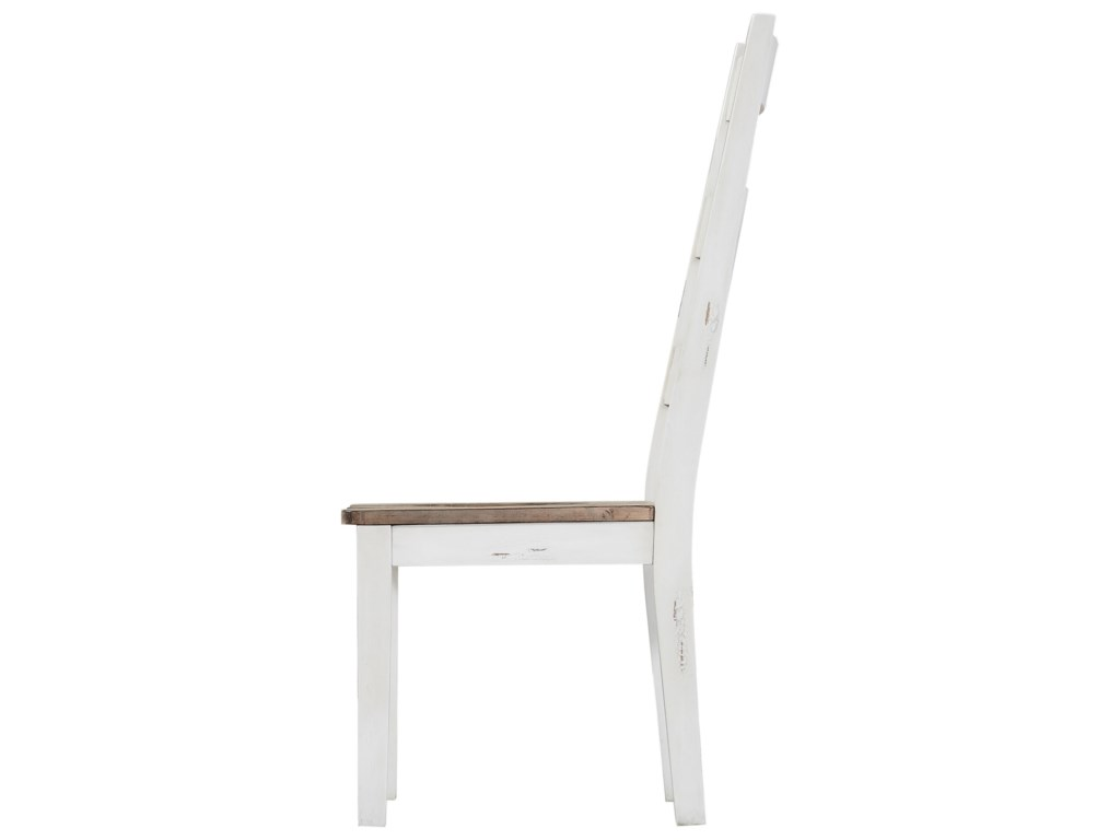 Emerald AbacoLadderback Side Chair